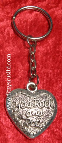 You Rock and Roll Key Ring Souvenir Keyring Gift